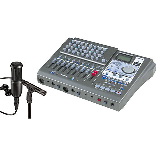 Tascam DP-01FX & A/T Microphone Recording Package