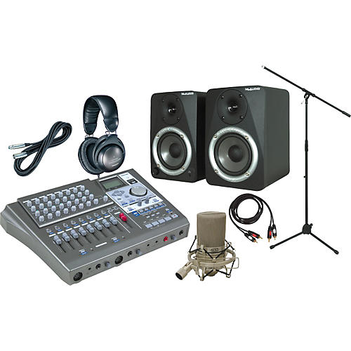 Tascam DP01FX All-In-One Recording Package