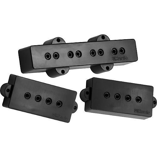 DiMarzio DP126 P+J Neck and Bridge Bass Pickup Set