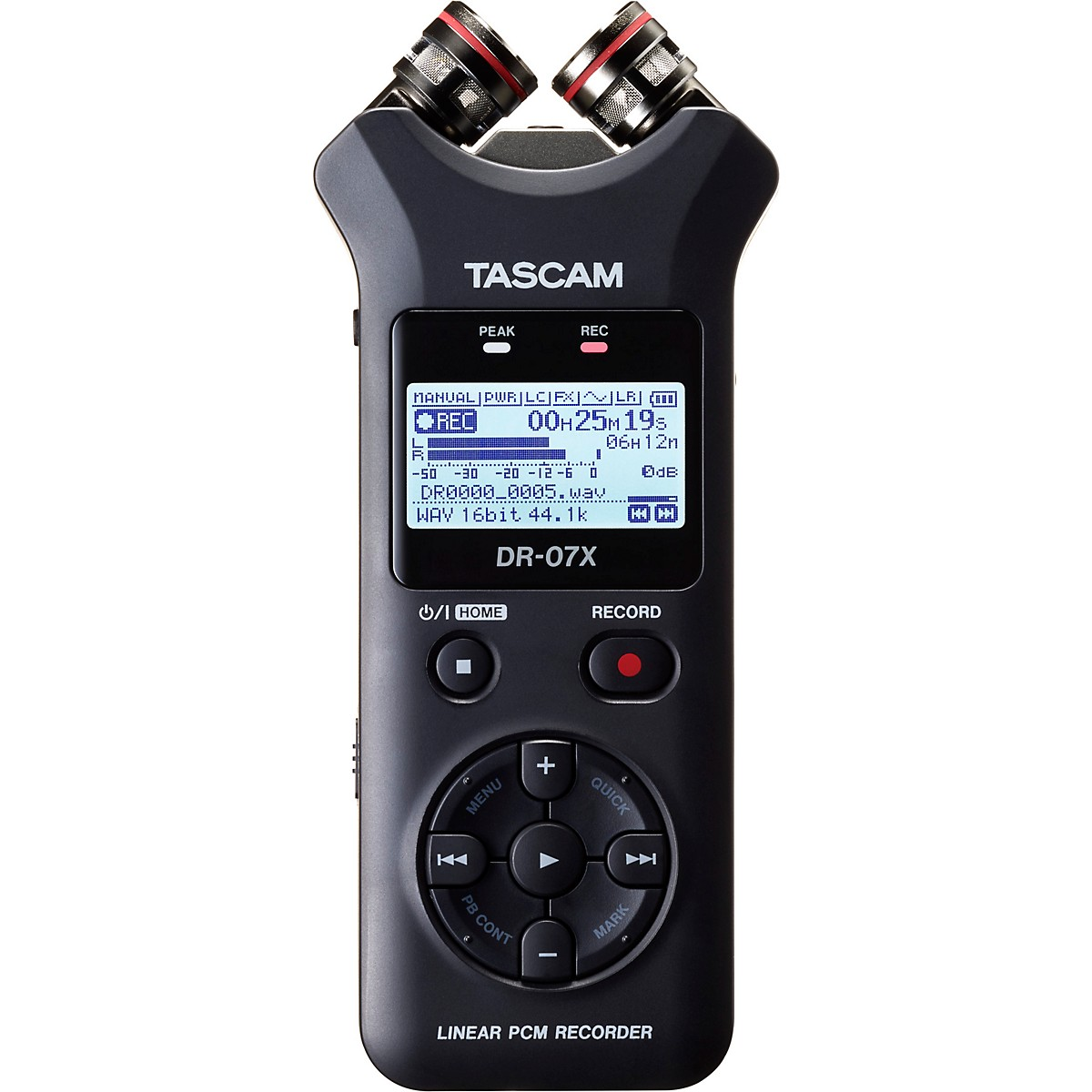 Tascam DR-07X Portable Digital Recorder