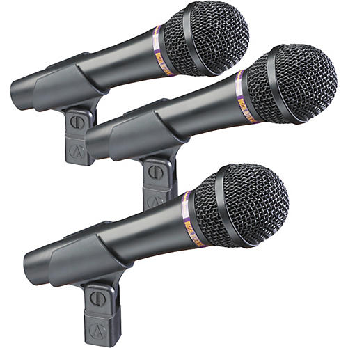Digital Reference DR-VX1 Dynamic Vocal Mic 3-Pack