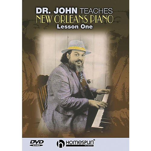 Homespun DR. John Teaches New Orleans Piano DVD 1