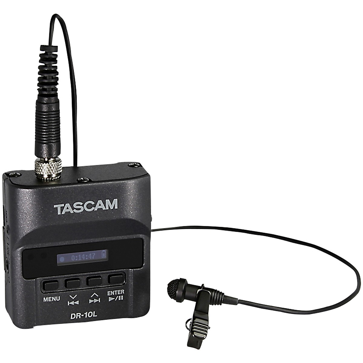 Tascam DR10L Digital Audio Recorder with Lavalier Microphone