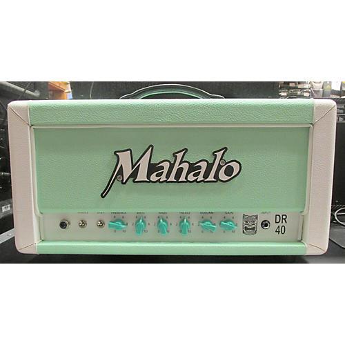 Mahalo DR40 40w Seafoam Green Tube Guitar Amp Head