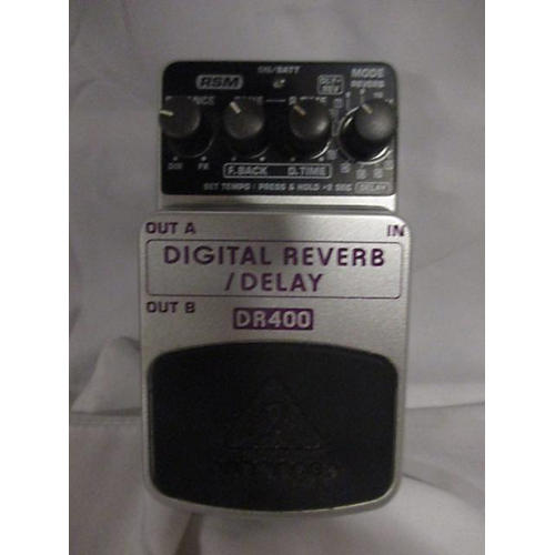 used behringer dr400 digital reverb delay effect pedal guitar center. Black Bedroom Furniture Sets. Home Design Ideas