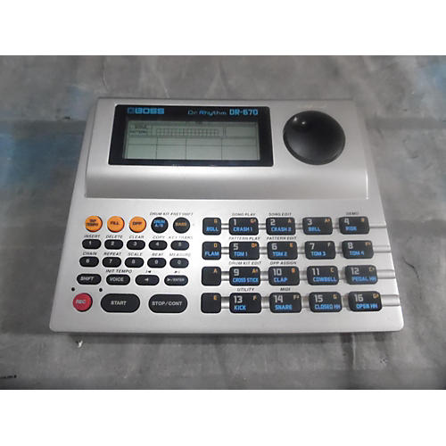 Boss DR670 Dr Rythym Drum Machine