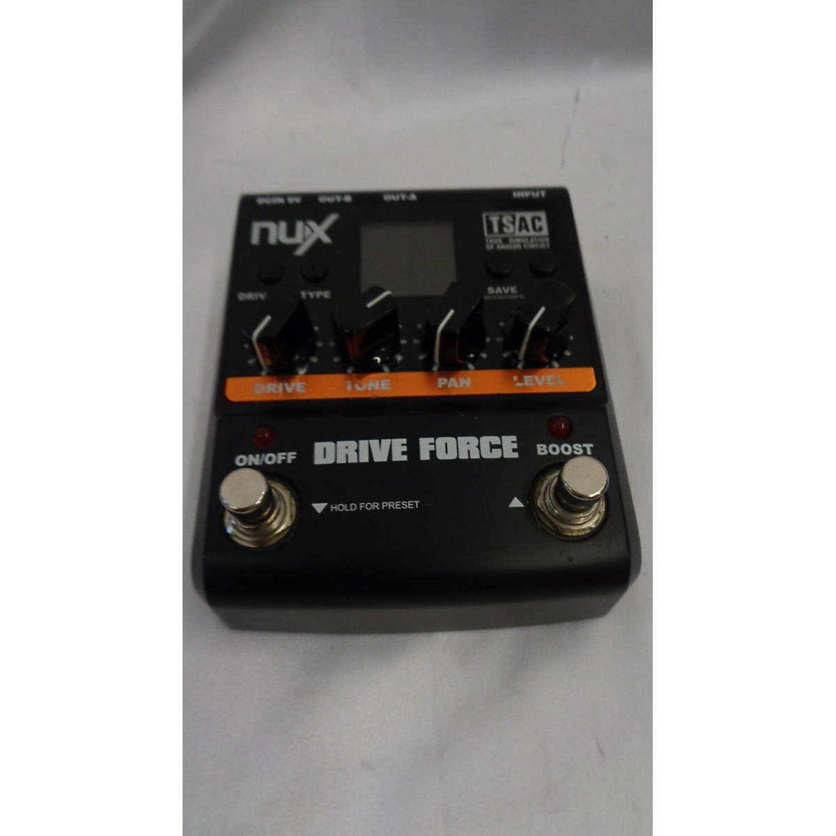 NUX DRIVE FORCE Effect Pedal