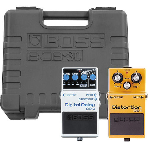 Boss DS-1/DD-3 Players Pack with BCB-30 Pedal Board