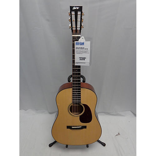 used collings ds1 acoustic guitar natural guitar center. Black Bedroom Furniture Sets. Home Design Ideas