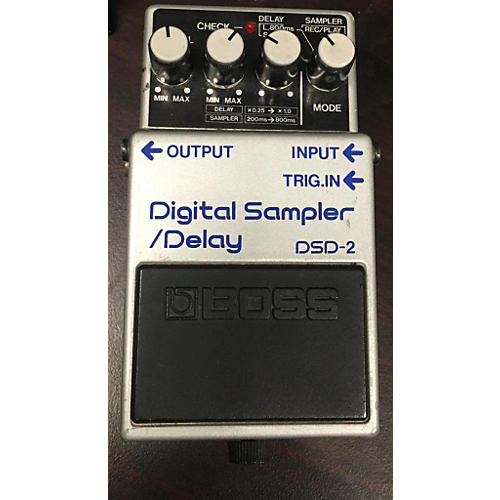 Boss DSD2 DIGITAL SAMPLER/DELAY Effect Pedal
