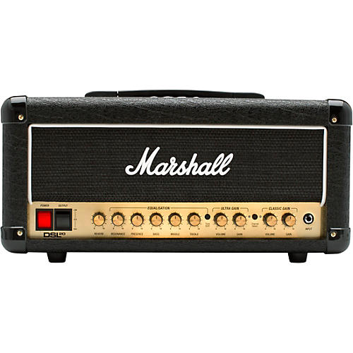 marshall dsl20hr 20w tube guitar amp head guitar center. Black Bedroom Furniture Sets. Home Design Ideas