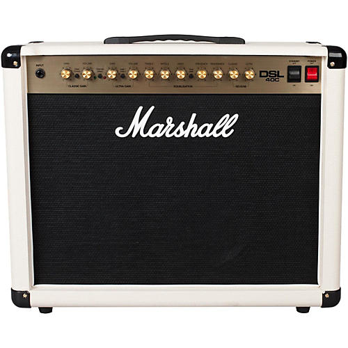 marshall dsl40c limited edition cream 40w 1x12 tube guitar combo amp guitar center. Black Bedroom Furniture Sets. Home Design Ideas