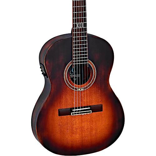 Ortega DSSUITE-E Distressed Nylon Acoustic-Electric Guitar