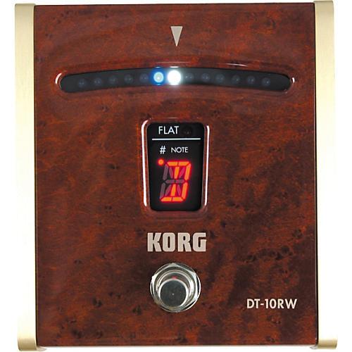 Korg DT-10RW Custom Rosewood Guitar Pedal Tuner