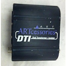 ART DTI DUAL TRANSFORMER / ISOLATOR Direct Box