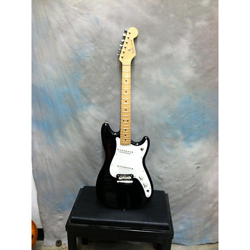 Fender DUO-SONIC Black Solid Body Electric Guitar