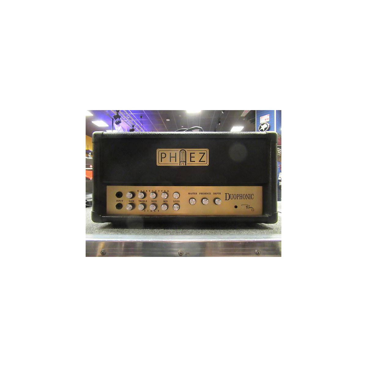 Phaez DUOPHONIC 50 DAISYCUTTER SIBLY 50W Tube Guitar Amp Head