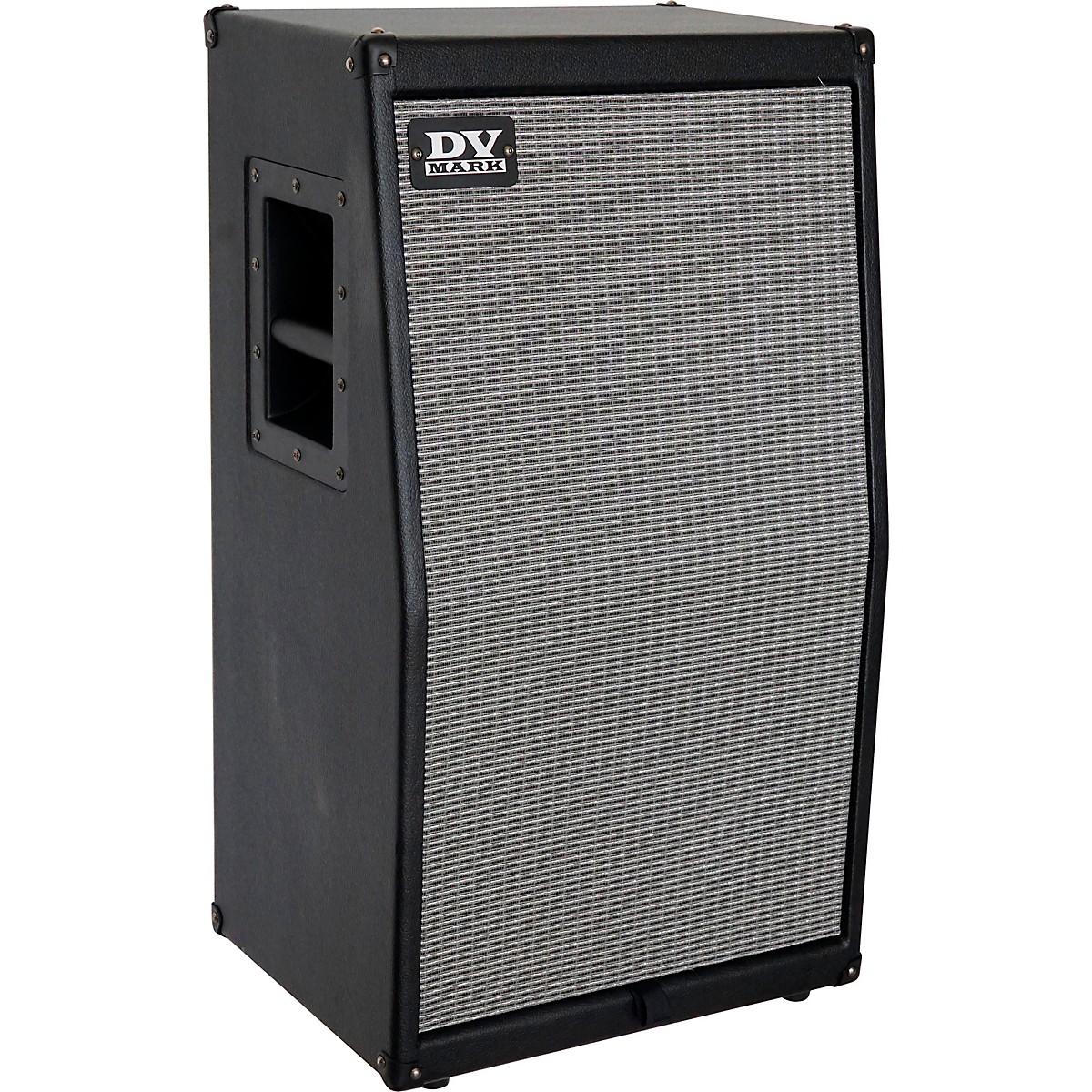DV Mark DV Silver 212V 300W 2x12 Vertical Guitar Speaker Cabinet