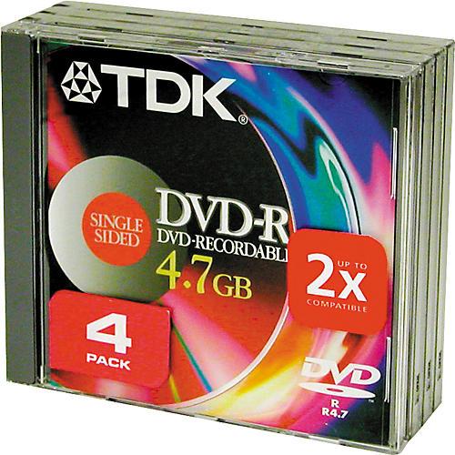 TDK DVD-R 47 S4 4 Pack