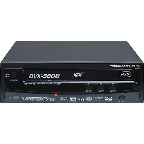 VocoPro DVX-580G Multiformat Media Player
