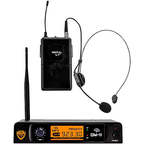 Nady DW-11 LT 24 bit Digital Headmic Wireless Microphone System