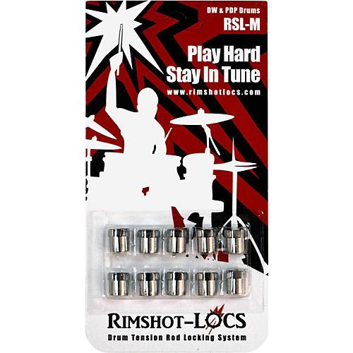 Rimshot-Locs DW/PDP 12/24 Thread 10-Pack
