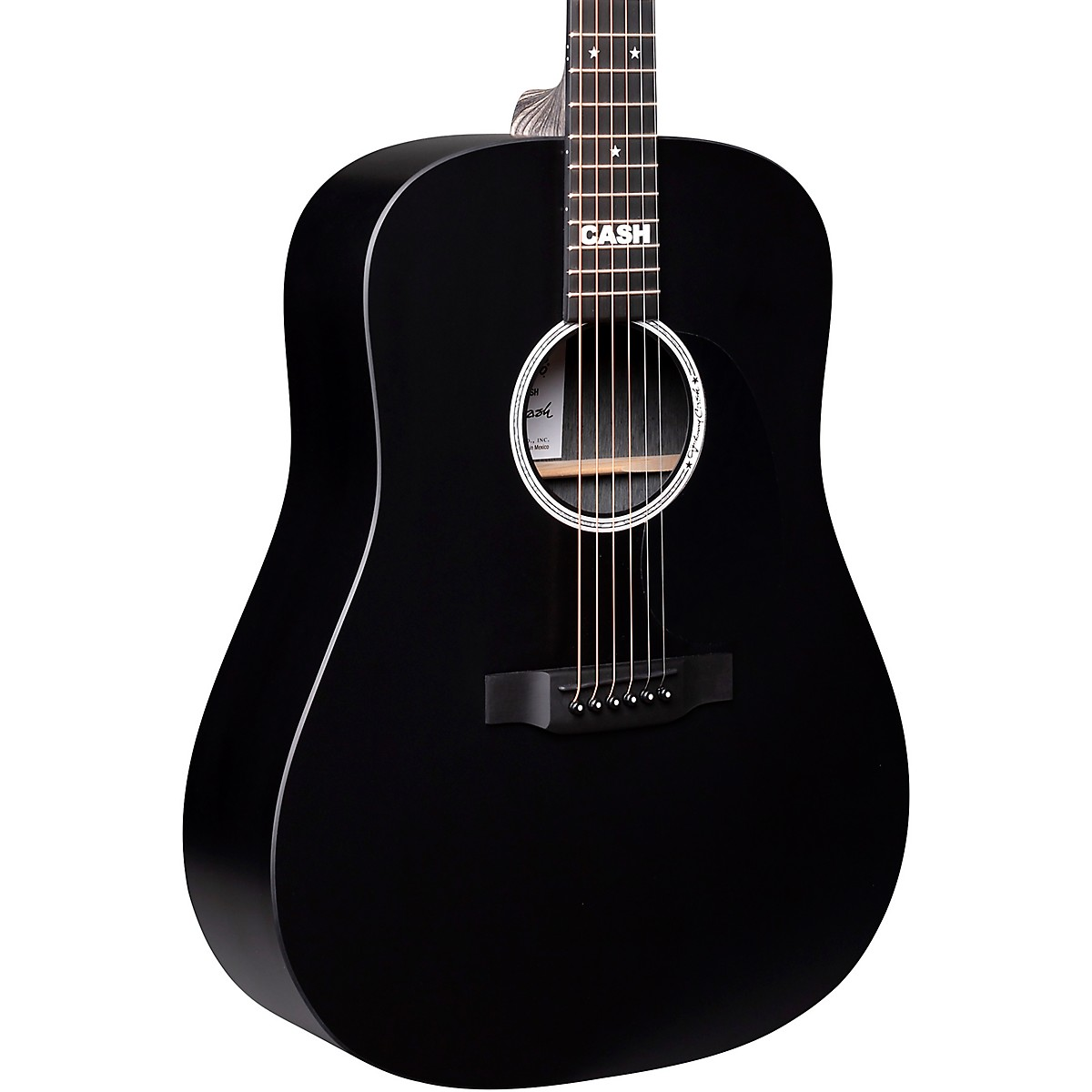 Martin DX Johnny Cash Signature Dreadnought Acoustic-Electric Guitar