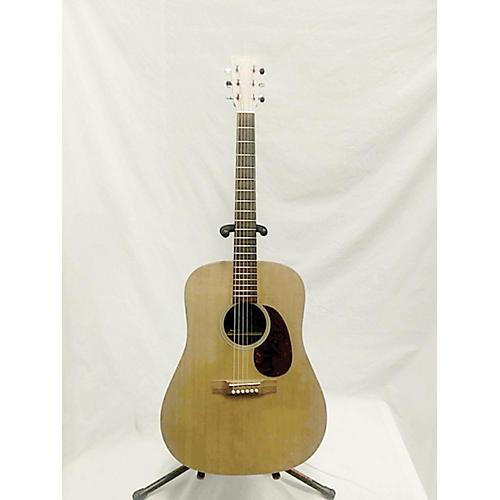used martin dx1 acoustic guitar natural guitar center. Black Bedroom Furniture Sets. Home Design Ideas