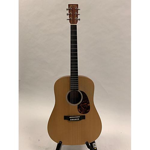 used martin dx1 custom acoustic electric guitar natural guitar center. Black Bedroom Furniture Sets. Home Design Ideas