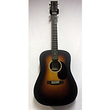 Martin DX1AE MACASSAR Acoustic Electric Guitar