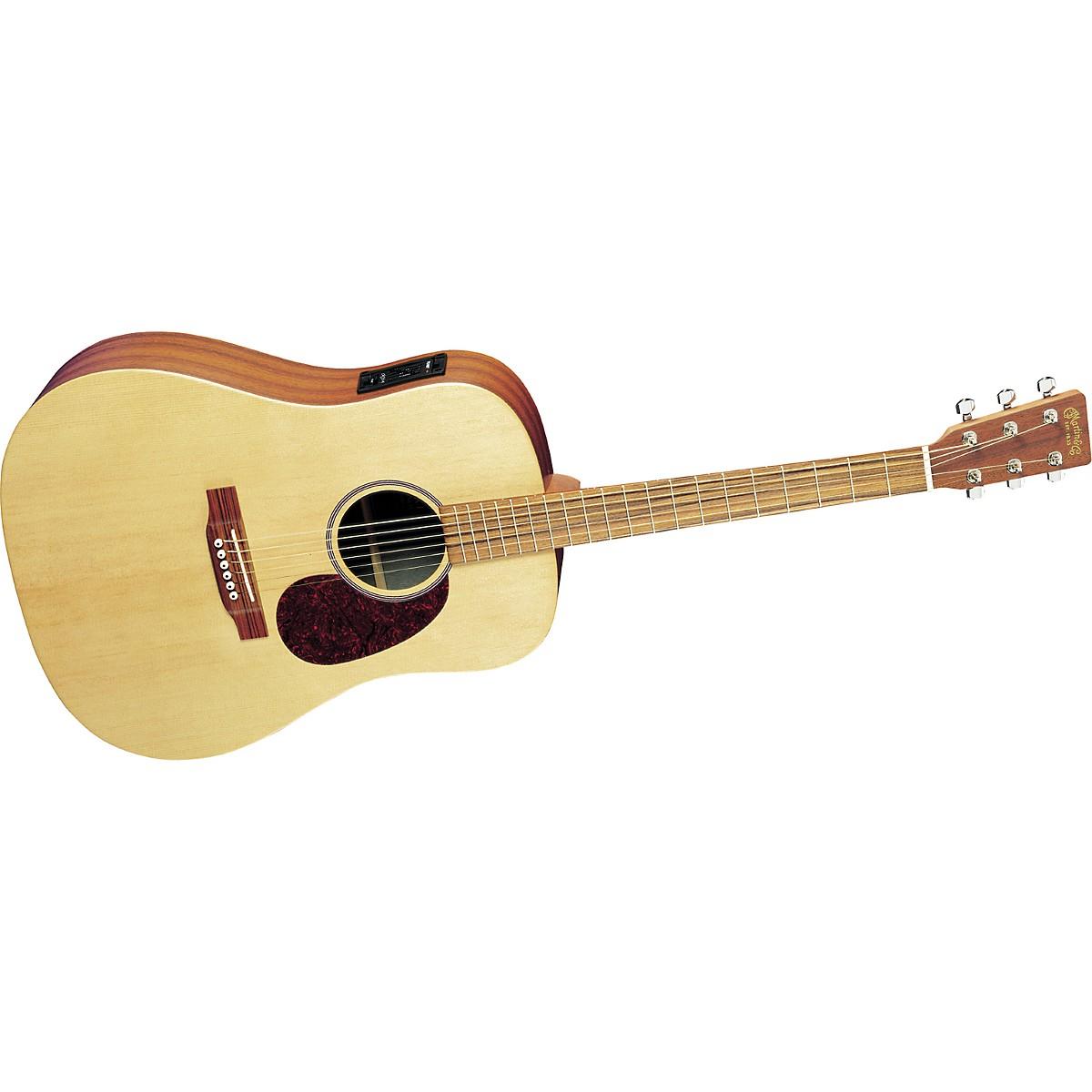 Martin DX1E Dreadnought Acoustic-Electric Guitar