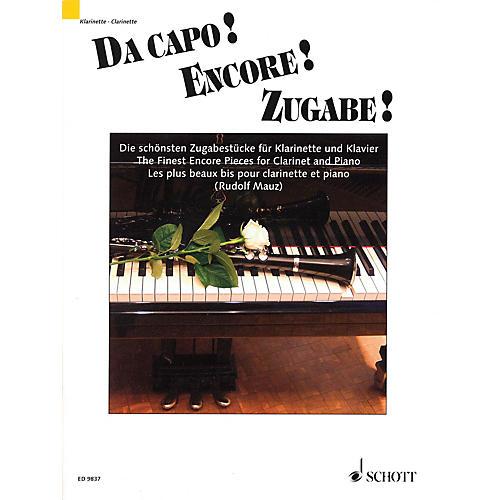 Schott Da capo! Encore! Zugabe! (The Finest Encore Pieces Clarinet and Piano) Schott Series