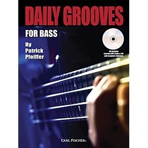 Carl Fischer Daily Grooves for Bass Book/CD by Carl Fischer