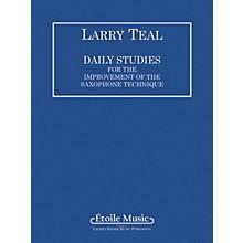 Lauren Keiser Music Publishing Daily Studies for the Improvement of the Saxophone Technique LKM Music Series