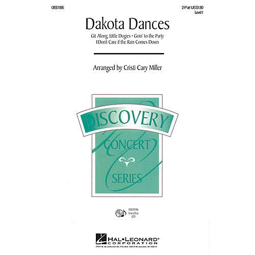 Hal Leonard Dakota Dances 2-Part arranged by Cristi Cary Miller