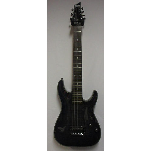 Schecter Guitar Research Damien Elite 7 Floyd Rose Solid Body Electric Guitar