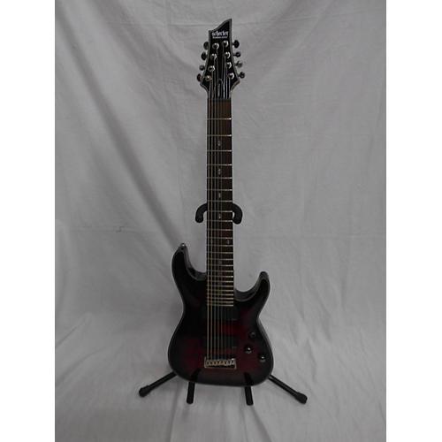 Schecter Guitar Research Damien Elite 8 Solid Body Electric Guitar