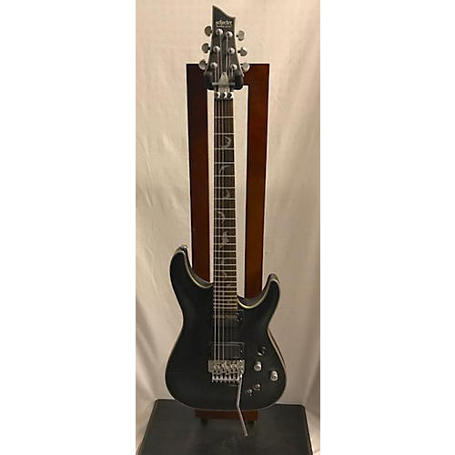 used schecter guitar research damien platinum 6 sustainiac solid body electric guitar guitar. Black Bedroom Furniture Sets. Home Design Ideas