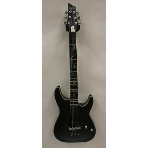 used schecter guitar research damien platinum solid body electric guitar black guitar center. Black Bedroom Furniture Sets. Home Design Ideas