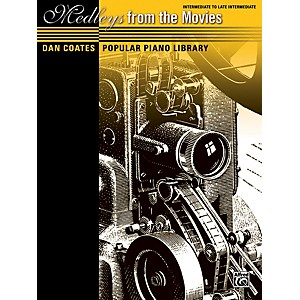 Alfred Dan Coates Popular Piano Library: Medleys from the Movies Book by Alfred