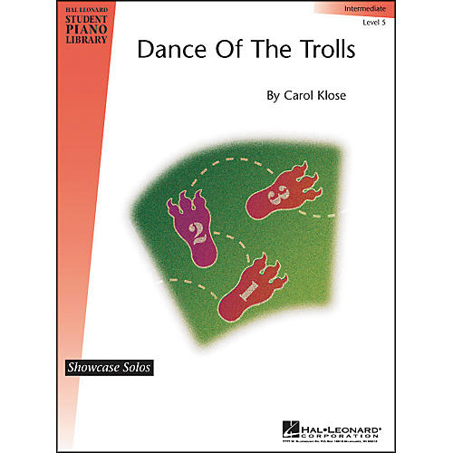 Hal Leonard Dance Of The Trolls Intermediate Level 5 Showcase Solos Hal Leonard Student Piano Library