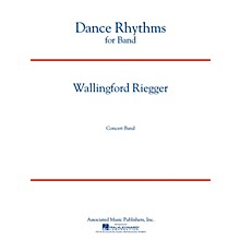 Associated Dance Rhythms for Band, Op. 58 (Full Score) Concert Band Level 5 Composed by Wallingford Riegger