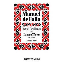 Chester Music Dance of Terror and Ritual Fire Dance (El Amor Brujo) (Cello & Piano) Music Sales America Series