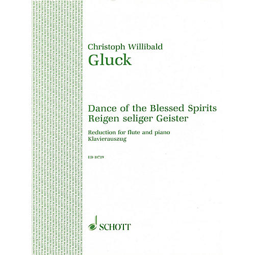 Schott Dance of the Blessed Spirits from Orpheus and Eurydice Schott Series