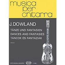 Editio Musica Budapest Dances & Fantasies (Guitar Solo) EMB Series Composed by John Dowland