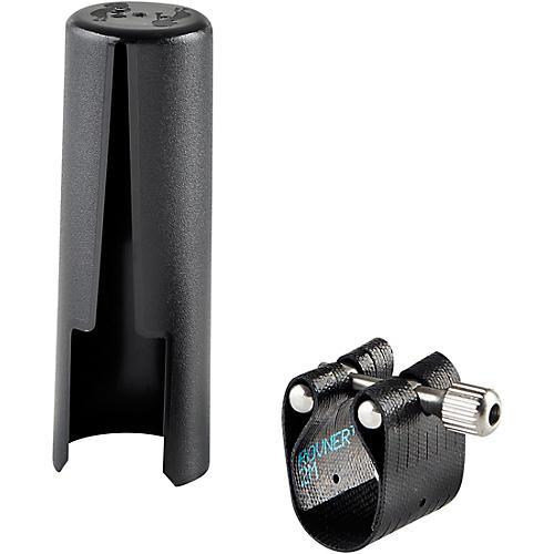 Rovner Dark 2M Tenor Saxophone Ligature and Cap for Metal Mouthpieces