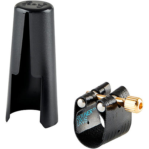 Rovner Dark Soprano Saxophone Ligature and Cap