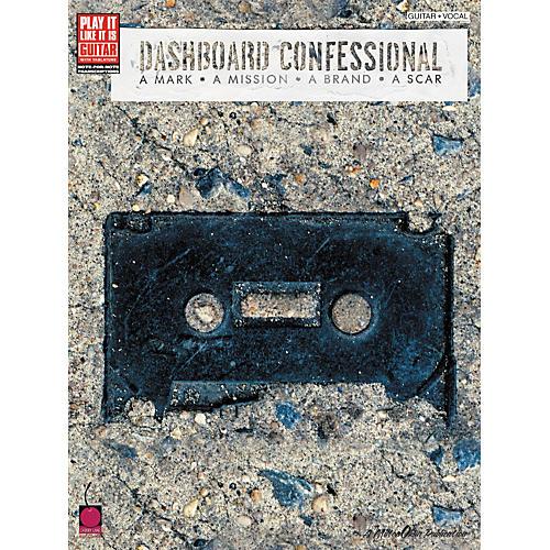 Cherry Lane Dashboard Confessional A Mark A Mission A Brand A Scar Guitar Tab Songbook