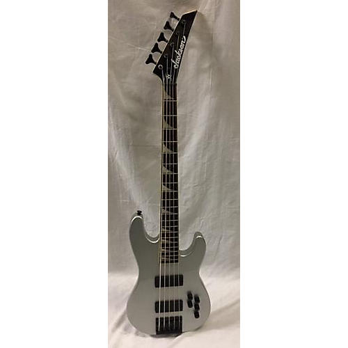 used jackson dave ellefson signature cbx 5 string electric bass guitar silver guitar center. Black Bedroom Furniture Sets. Home Design Ideas