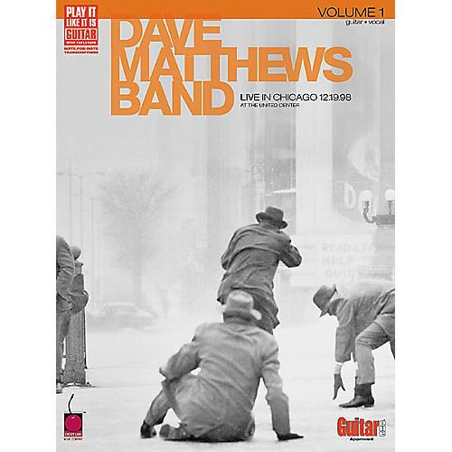 Cherry Lane Dave Matthews Band - Live in Chicago,Volume 1 Book